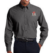 CTA - Tall Crosshatch Easy Care Shirt
